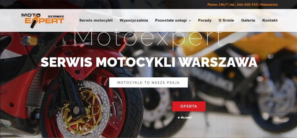 Motoexpert SERWIS MOTOCYKLI WARSZAWA