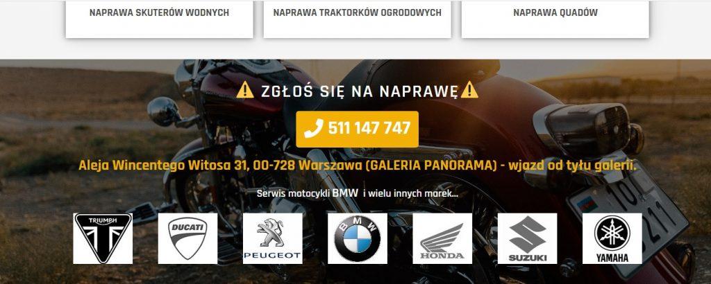 Naprawa Motocykli Warszawa