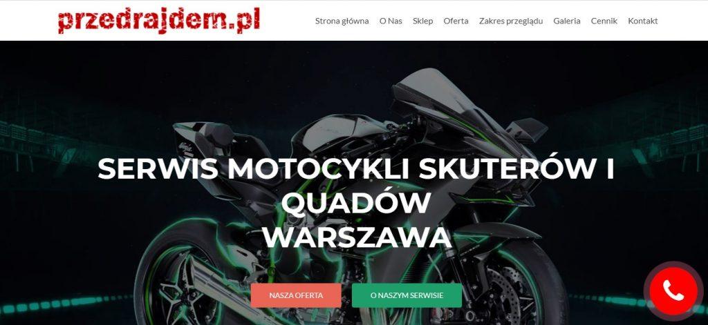 SERWIS MOTOCYKLI SKUTERÓW I QUADÓW WARSZAWA