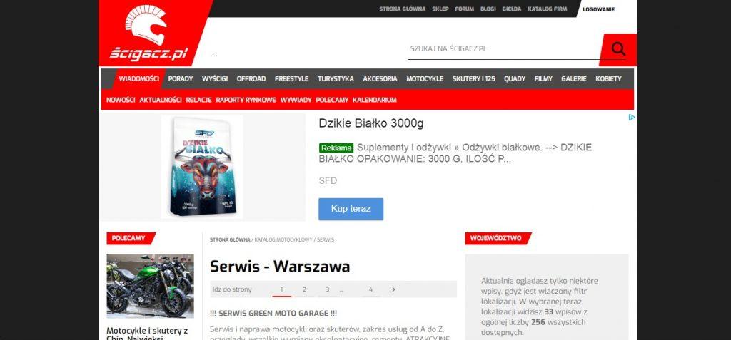 Serwis - Warszawa Serwis Motocyklowy, Diagnostyka Elektroniki, Serwis Mechaniki, Pełna obsługa mechaniczna, przygotowywanie do sezonu, naprawa silnika.